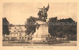 13514136 Chinon_Indre_et_Loire Statue De Jeanne D'Arc Monument Chinon_Indre_et_L - Non Classés