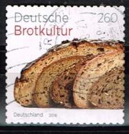 Bund 2018,Michel# 3390 O Deutsche Brotkultur, Selbstklebend - Gebraucht