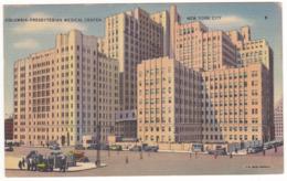 Prix Fixe - New York City - Columbia - Presbyterian Medical Center # 11-10/21 - New York City