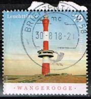 Bund 2018,Michel# 3392 O  Leuchttürme: Wangerooge - BRD