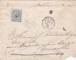 Belgique Lettre 1860 - België