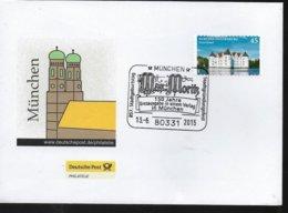 ALLEMAGNE  Lettre 2015 Munchen Bd Max Moritz - Comics