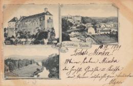 Raabs An Der Thaya * Burg, Schiessstätte, Bad, Mehrbild * Österreich * AK613 - Raabs An Der Thaya