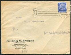 1939 Germany Breslau - Copenhagen Denmark Censor Cover - Germany