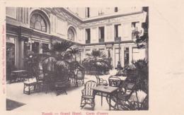 CARTOLINA - NAPOLI - GRAND HOTEL - CORTE D' ONORE - Napoli