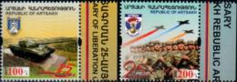 "Rep.of Artsakh 2017 ""25th Anniversary Of Liberation Of Shushi & Of The Artsakh Army"" 2v Quality:100% - Armenia"