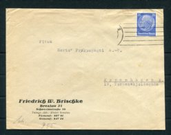 WW2 Germany Breslau - Copenhagen Denmark Censor Cover - Germany