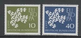 PAIRE NEUVE D'ALLEMAGNE FEDERALE - EUROPA 1961 N° Y&T 239/240 - Europa-CEPT