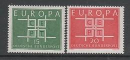 PAIRE NEUVE D'ALLEMAGNE FEDERALE - EUROPA 1963 N° Y&T 278/279 - Europa-CEPT