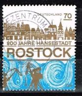 Bund 2018,Michel# 3395 O 800 Jahre Rostock - Gebraucht