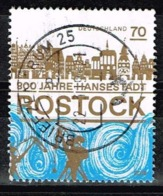 Bund 2018,Michel# 3395 O 800 Jahre Rostock - BRD