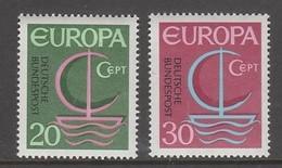 PAIRE NEUVE D'ALLEMAGNE FEDERALE - EUROPA 1966 N° Y&T 376/377 - Europa-CEPT