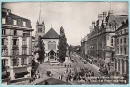 Svizzera Losanna - Place Eglise St. Francois - Hotel Des Poste - VD Vaud