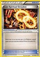 Carte Pokemon 131/160 Lien Spirituel Groudon 2015 - Pokemon
