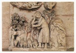 France - Chartres - La Cathédrale - Détail Du Jubé (Relief) - Kirchen U. Kathedralen