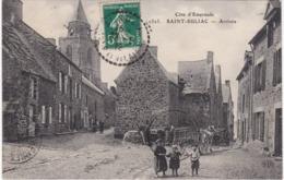 SAINT-SULIAC - Arrivée - Attelage - Enfants - Saint-Suliac