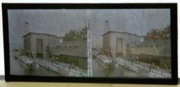 Plaque De Verre Stéréo - Paris - Expo 1937 - Pavillon Du Bois - Animée - Plaques De Verre