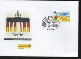 ALLEMAGNE  Lettre 2015 Bonn Poste Lievre - Post