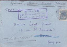 Pays Bas Lettre 1913 - Lettres & Documents