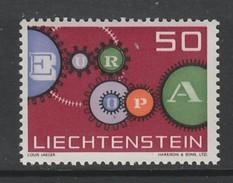 TIMBRE NEUF DU LIECHTENSTEIN - EUROPA 1961 N° Y&T 364 - Europa-CEPT