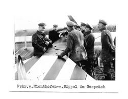 Manfred Von Richthofen Et HANS JOACHIM V. HIPPEL JASTA Jagdstaffel 5 AUTOGRAPHE ORIGINAL AUTOGRAPH AVIATION WW1 - Luftfahrt