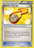 Carte Pokemon 97/124 Sacoche D'energie 2016 - Pokemon
