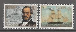 PAIRE NEUVE DE YOUGOSLAVIE - EUROPA 1982 : FAITS HISTORIQUES N° Y&T 1804/1805 - Europa-CEPT