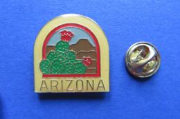 Pin's,ville,ARIZONA,plantes,fleurs,cactus - Villes