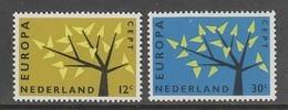 PAIRE NEUVE DES PAYS-BAS - EUROPA 1962 N° Y&T 758/759 - 1962
