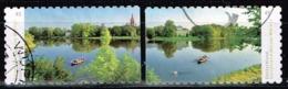 Bund 2018,Michel# 3405 . 3406 O Deutschlands Schönste Panoramen: Dessau- Wörlitzer Park, Selbstklebend - Gebraucht