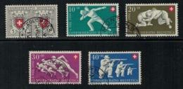 Suisse // Schweiz // Switzerland //  Pro- Patria //  Série 1950  Oblitérée - Oblitérés