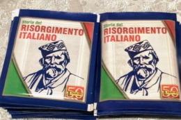 Risorgimento Italiano//50 Bustine Con Figurine Panini, Del 2011 Lot N 1 - Italian Edition
