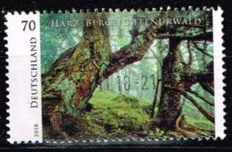 Bund 2018,Michel# 3410 O Harz National Park - Gebraucht