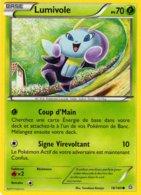Carte Pokemon 18/160 Lumivole 70pv 2015 - Pokemon