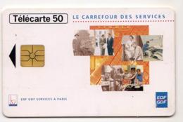 FRANCE EN1460 Edf Gdf Services  05/96 50U Tirage 6316 Ex - Frankreich