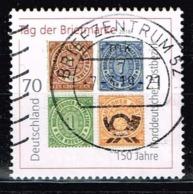 Bund 2018,Michel# 3412 O  Tag Der Briefmarke 1997: 150 Jahre NDPb - Gebraucht
