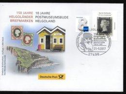 ALLEMAGNE  Lettre 2017 Helgoland Ornithologue Heinrich Gätke - Music
