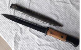 Baïonnette Allemande 43 Fnj MAUSER Fourreau 1938 WW2 - Armes Blanches