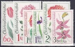 ** Tchécoslovaquie 1973 Mi 2147-52 (Yv 1993-8), (MNH) - Czechoslovakia