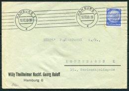 1939 Germany Hamburg Censor Cover - Copenhagen Denmark - Germany