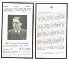Luxembourg Jean Mercatoris 1944 - Ansichtskarten