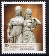 Bund 2018,Michel# 3416 O Johann Gottfried Schadow: Prinzessinnengruppe - Gebraucht