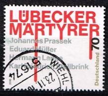 Bund 2018,Michel# 3417 O Lübecker Märtyrer - Gebraucht