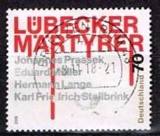 Bund 2018,Michel# 3417 O Lübecker Märtyrer - BRD