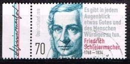 Bund 2018,Michel# 3419 O 250. Geburtstag Von Friedrich Schleiermacher - Gebraucht