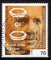 Bund 2018,Michel# 3420 O 100. Geburtstag Von Ernst Otto Fischer - Gebraucht