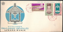 °°° POSTAL HISTORY INDONESIA - 1967 FDC °°° - Indonesien