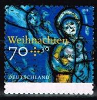 Bund 2018,Michel# 3422 O Kirchenfenster: Madonna Und Kind, Selbstklebend - Gebraucht