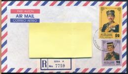 °°° POSTAL HISTORY BRUNEI - 1996 °°° - Brunei (1984-...)