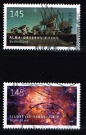Bund 2018,Michel# 3425 - 3426 O Astrophysik: ALMA Observatorium, Chile/ Ilustris - Simulation - Gebraucht